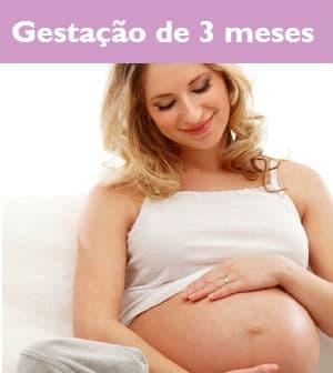 barriga de gravida com 3 meses