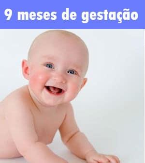 bebe gestação de 9 meses