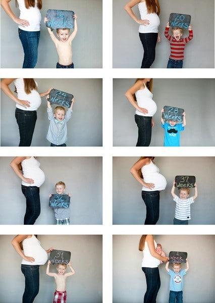 gravidez semana a semana fotos