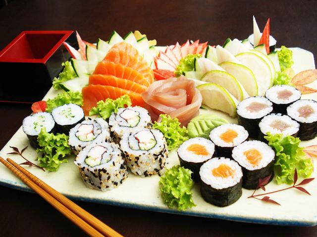 Suficiente Grávida pode comer comida japonesa? VN42