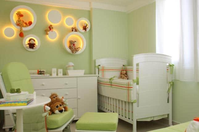 Decoração do quarto do bebê. (Foto: Divulgação).