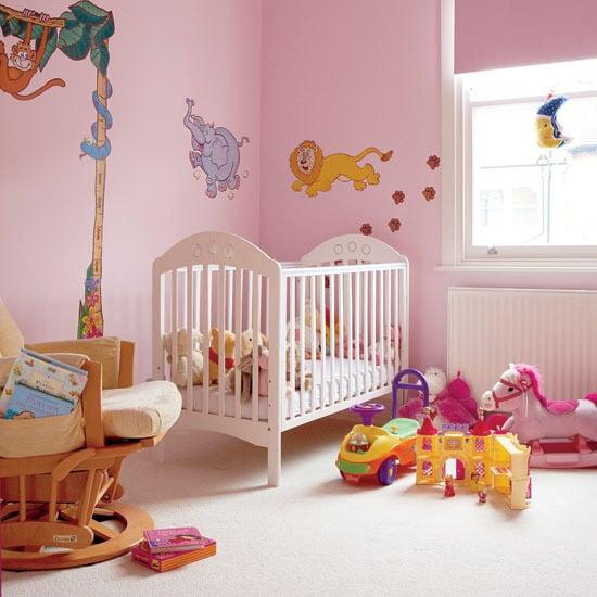 Ideias baratas para decorar o quarto de bebê ~ Quarto Rustico E Barato