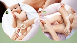 Dicas para a massagem shantala. (Foto: Divulgação).