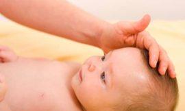 Cuidados com a moleira do bebê