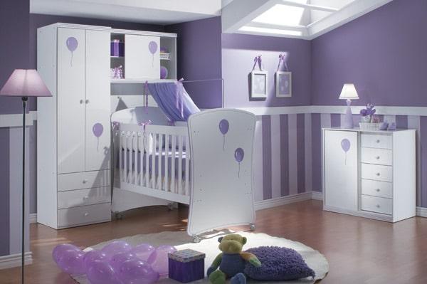 Quartinho de bebê lilás Modelos femininos e masculinos ~ Como Fazer Um Quarto Rosa Habblive
