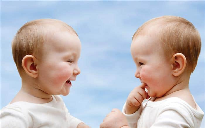 Brincadeira de bebê (Foto: Divulgação)