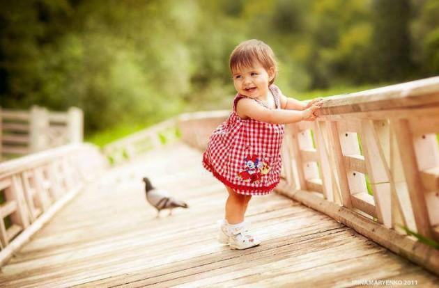 bebe na ponte