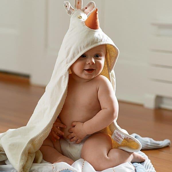 toalha de banho com capuz