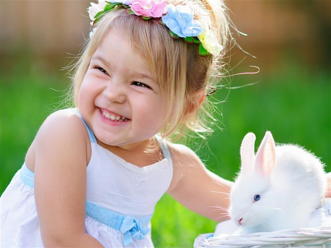 Foto de bebe com bichinhos
