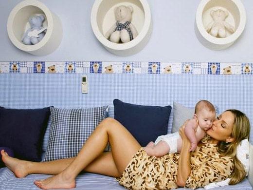 Decoração do quarto de bebê dos famosos