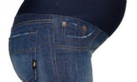 Modelos de calças jeans para gestantes