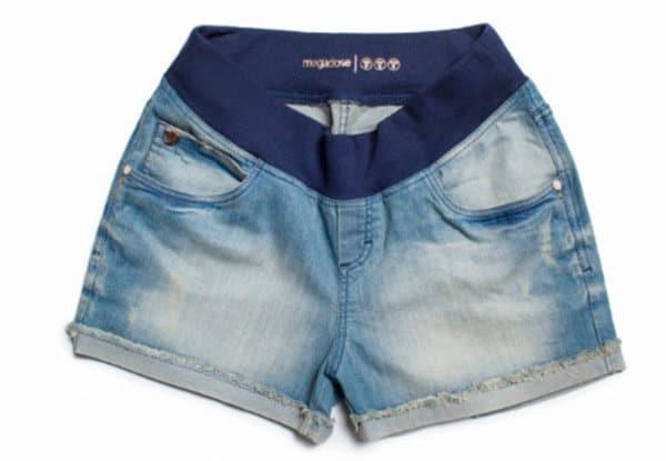 Modelos de shorts e bermudas para gestantes. (Foto: Divulgação).
