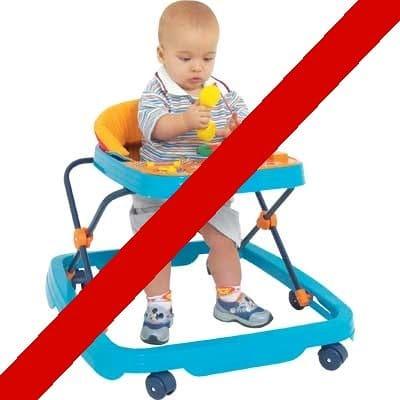 You are currently viewing Andadores para bebê proibidos – Conheça os riscos e perigos