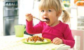 Alimentação do bebê nas férias