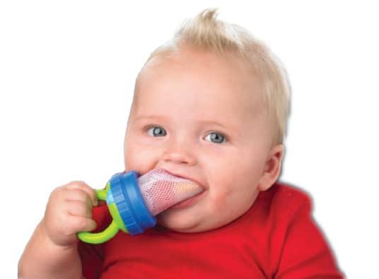 Usar ou n o redinha na alimenta o do beb for Comedor de frutas para bebe