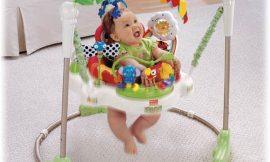 Jumperoo para bebê – É seguro? Qual idade devo usar?