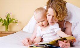 Qual idade para começar a ler para o bebê?