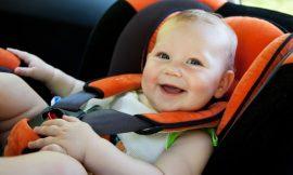 Como distrair o bebê durante uma viagem