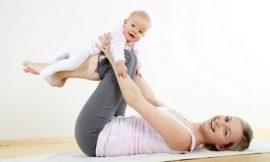 Exercícios para fazer com o bebê