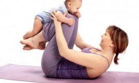 Guia de exercícios para praticar com o bebê