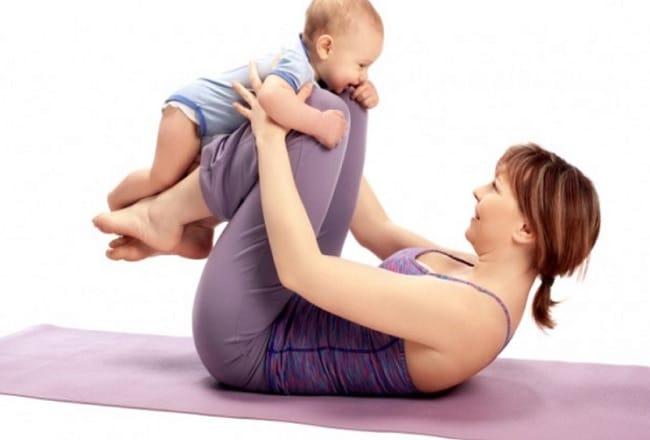 You are currently viewing Guia de exercícios para praticar com o bebê