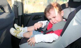 Dicas acalmar o choro do bebê no carro