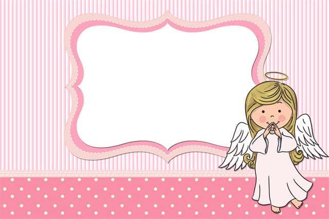 batizado cartão menina