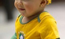 Roupas e Acessórios para bebês da Copa do Mundo