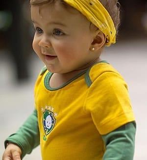 Read more about the article Roupas e Acessórios para bebês da Copa do Mundo