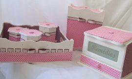 Como montar um kit higiene para o quarto do bebê