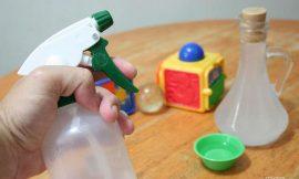 Dicas para limpar os brinquedos do bebê