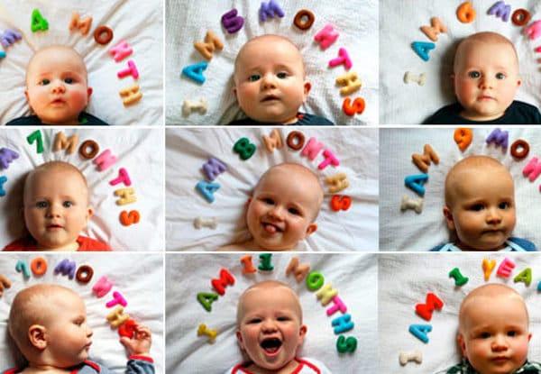 You are currently viewing 10 Ideias para registrar o crescimento do bebê