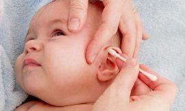 Como limpar o ouvido do bebê