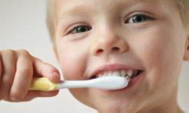 Escova dental ideal para bebês