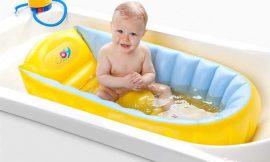 Como escolher a banheira ideal para o bebê