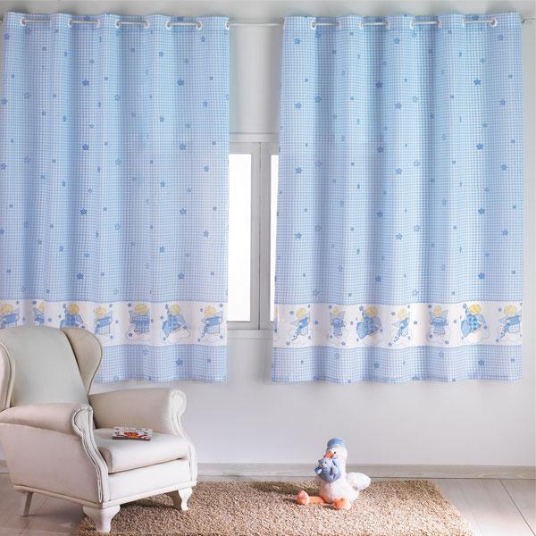 Como escolher as cortinas do quarto do beb - Modelos de cortinas infantiles ...