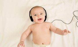 Importância da música para bebês
