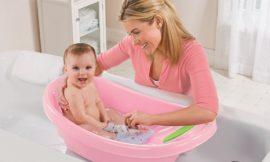 Dicas para dar um banho seguro no bebê