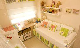 5 modelos de quarto de bebê com pouco espaço