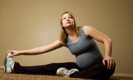 Exercícios preparatórios para o nascimento do bebê
