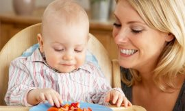 Como ajudar o bebê a ter hábitos alimentares