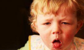 Como aliviar a tosse do bebê