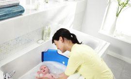 Dicas para os primeiros banhos do bebê