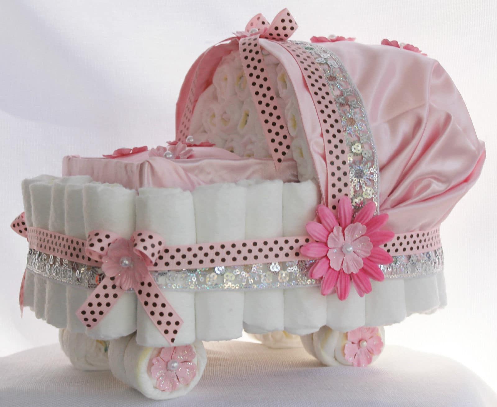 Read more about the article Modelos de bolos de fraldas fáceis de fazer