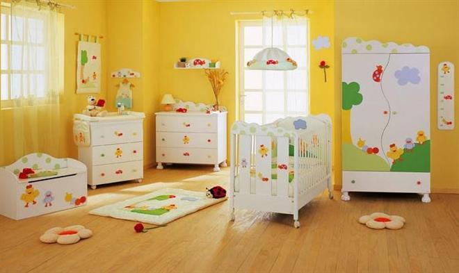 You are currently viewing 10 Sugestões baratas para decorar quarto do Bebê