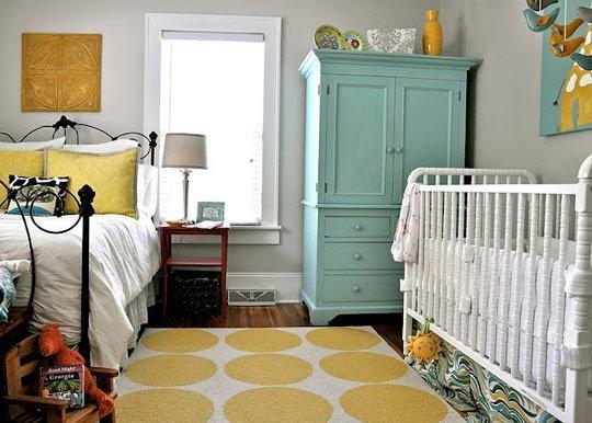 cantinho do bebe no quarto dos pais