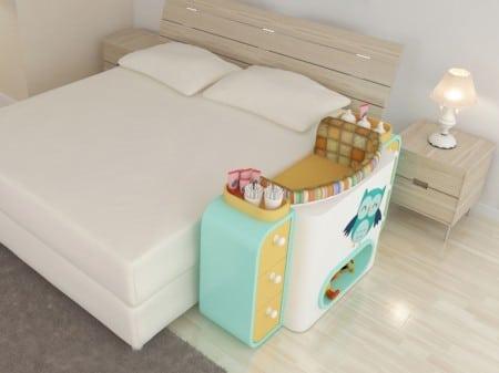 espaço do bebe no quarto do casal