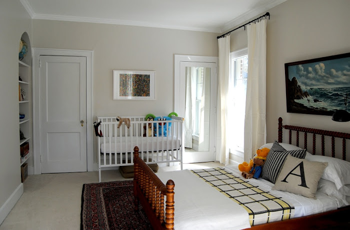 quarto de bebe no quarto da mae