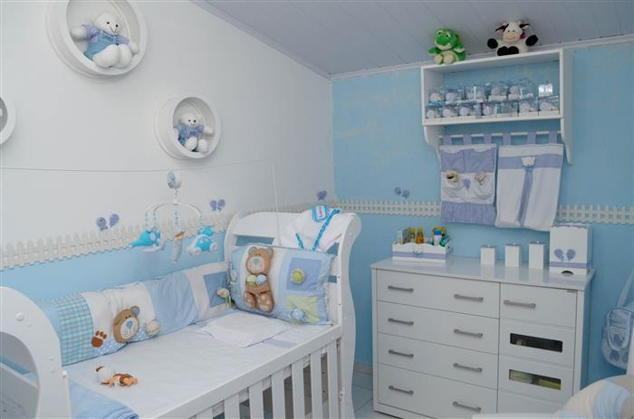 cantinho do bebe em azul