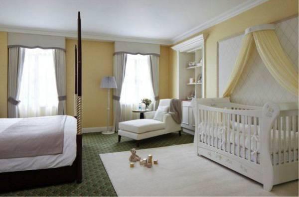 como decorar cantinho do bebe no quarto da mae